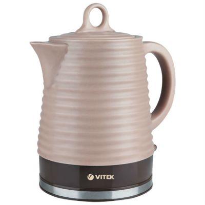 Электрический чайник Vitek VT-1135 (коричневый)