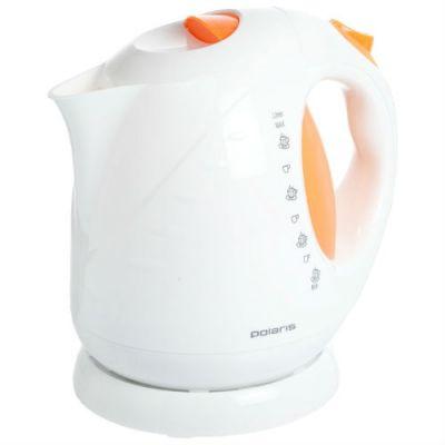 Электрический чайник Polaris PWK 2013C (белый/оранжевый)