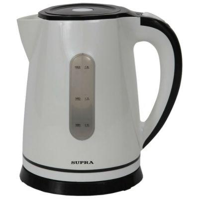 Электрический чайник Supra KES-1822 белый/черный