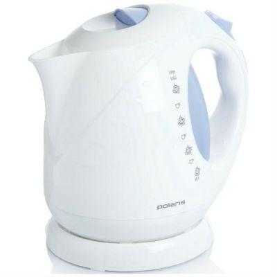 Электрический чайник Polaris PWK 2013C (белый/синий)