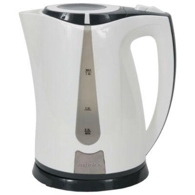 Электрический чайник Supra KES-1821 белый/серый
