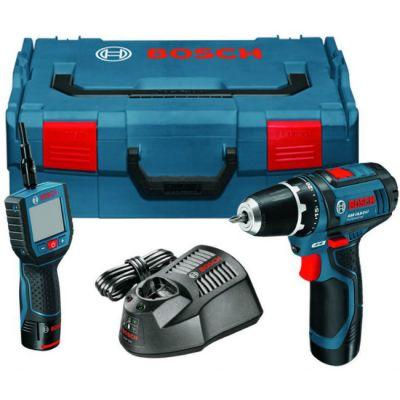 Дрель Bosch GSR 10.8-2-Li + GOS 10.8V-Li (шуруповерт) 060124100C