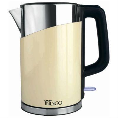 Электрический чайник Scarlett IS-503 (бежевый)