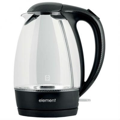 Электрический чайник Element El Kettle glass carbon WF02GC
