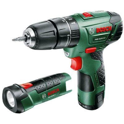 ����� Bosch ������� (����������) PSB 10.8 Li-2/2 + PLI 10,8 LI 0603983922