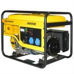 Генератор CHAMPION бензиновый GG6500 (5/5.5 кВт,OHV 390, 13 л.с., 25 л, 72.5 кг, 2.5 л/ч, 12 V)