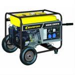 Генератор CHAMPION бензиновый GG7200E (5/5.5 кВт, OHV 13 л.с., 25 л, 82 кг, 2.8 л/ч, 12 V, эл.старт, колеса)