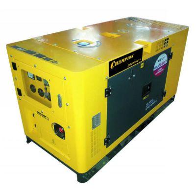 Генератор CHAMPION дизельный DG20000ES-3 (25/27.5 кВА 34 л.с. 50 л. 797 кг. 5 л/ч, эл.старт, счетчик)