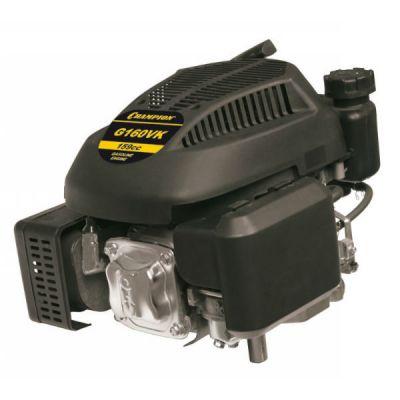 Двигатель CHAMPION бензиновый четырёхтактный G160VK (5.5 л.с. 159 см3, диам. 22.2 мм шпонка, вертикальный вал, 13 кг)