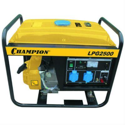 Генератор CHAMPION бензиново-газовый LPG2500 (газ, 2/2.3 кВт, 15 л, 36 кг,1.6 л/ч, 12 V)