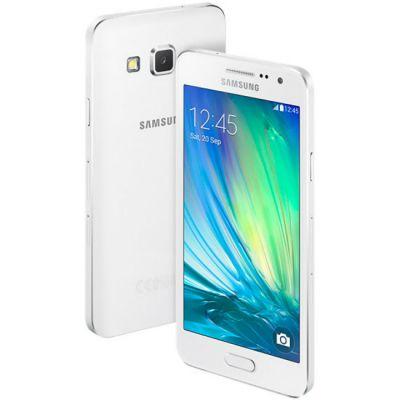 Смартфон Samsung Galaxy A3 SM-A300F Duos White SM-A300FZWDSER