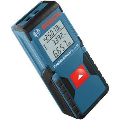 Дальномер Bosch лазерный GLM 30, 0.15-30 м, точность ± 2 мм, 0.1 кг, 0601072500