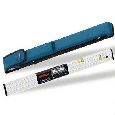 Bosch уклономер DNM 60L, 1х9 В 0-360°, точность ± 0.05°, 160х25х60 мм, 1.3 кг, 0601014000