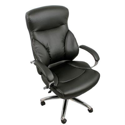 Офисное кресло Staten руководителя COLLEGE H-9582L-1K черное (273646)