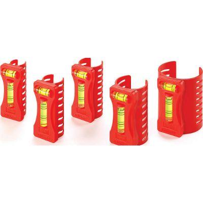 Kapro Уровень для труб 350, набор из 5 штук, от 1/2'' до 2'' 350