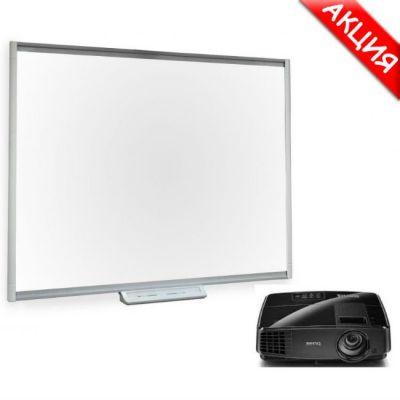 Интерактивная доска SMART Technologies Комплект доска SBM680 + проектор BenQ MS504