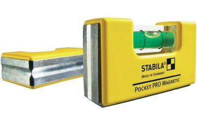 STABILA Уровень тип Pocket Magnitic Pro, 7 см, 1 глаз. точн. 1 мм/м, 17768s