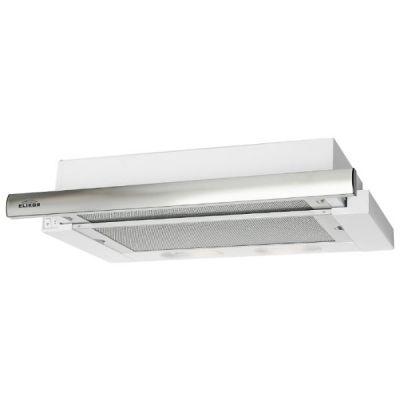 Встраиваемая вытяжка Elikor Интегра 50П-400-В2Л (белый/нержавеющая сталь)