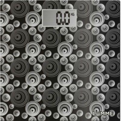 Весы напольные Lumme LU-1306 black/krug