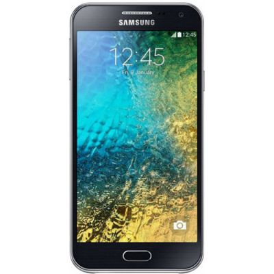 Смартфон Samsung GALAXY E5 SM-E500H/DS Black SM-E500HZKDSER
