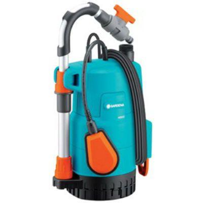 Насос GARDENA погружной 4000/2 Classic, 0.5 кВт, 4000 л/ч, глубина 7 м, напор 20 м, 4.8 кг, 01740-20.000.00