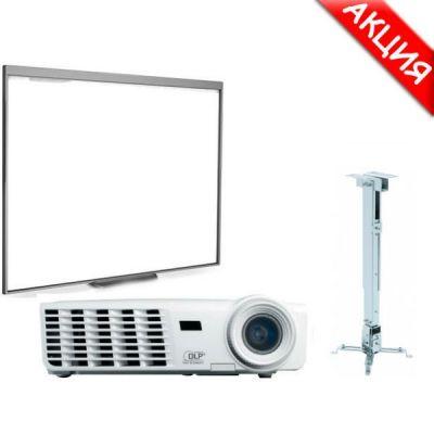 Интерактивная доска SMART Technologies Комплект доска SB480 + проектор Vivitek D517 + крепление Digis DSM-2L