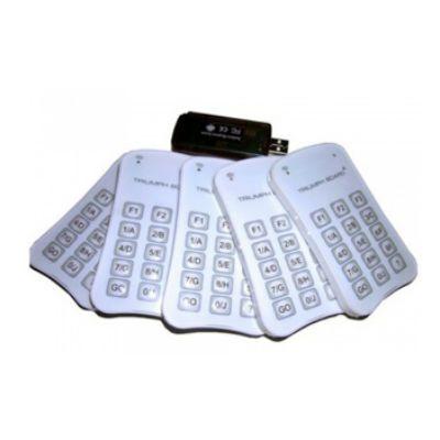 Комплект TRIUMPH для расширения системы голосования TB RF400 EXTRA HANDSETS