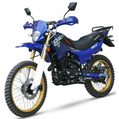Мотоцикл Wels MX250 offroad (синий)