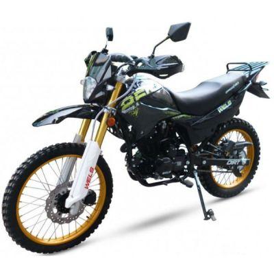 Мотоцикл Wels MX250 offroad (черный)