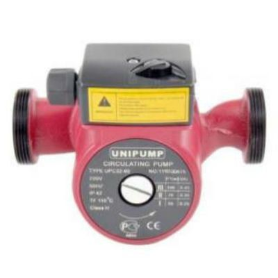 Насос UNIPUMP циркуляционный, UPC 32-80, 225 Вт, 3-х позиционный переключатель, монтажная длинна 180 мм, UPC_32-80_180