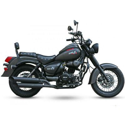 Мотоцикл Wels трофейный 250сс