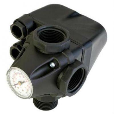 UNIPUMP Реле давления PM/5-3W Italtecnica с манометром 36073u