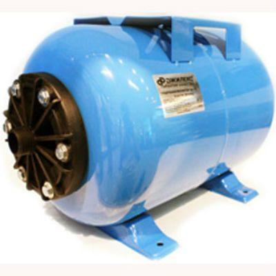 ДЖИЛЕКС Гидроаккумулятор 24ГП, 24 л, горизонтальный, пластик, фланец, (для насосов до 1кВт), 7023d