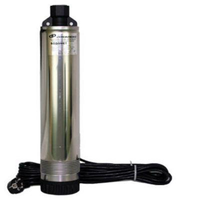 Насос ДЖИЛЕКС погружной для скважин ВОДОМЕТ ПРОФ 55/75 (1075), 880 Вт, 55 л/м, диам. 96 мм, напор 75 м, кабель 30 м, частицы до 1.5 мм. 1075d