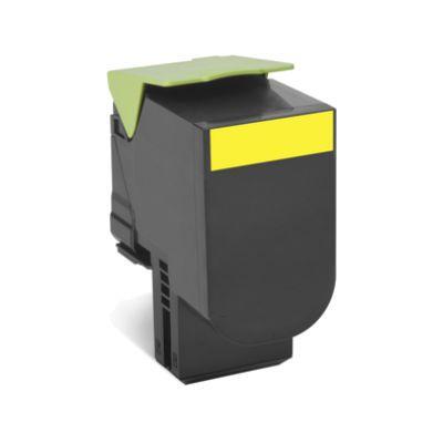 Картридж Lexmark Yellow/Желтый (80C8HY0)