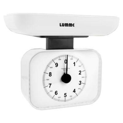 Кухонные весы Lumme LU-1321 white