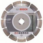 Диск Bosch алмазный, 180_22.23_2.0, по бетону, сегментный, Professional for Concrete, 2608602199