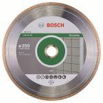 Диск Bosch алмазный, 250_25.4/30_1.6, по керамике, сплошной, Professional, 2608602539