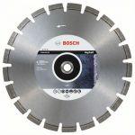 Диск Bosch алмазный, 350_20/25.40_3.2, для резки асфальта, Best for Asphalt, 2608603641