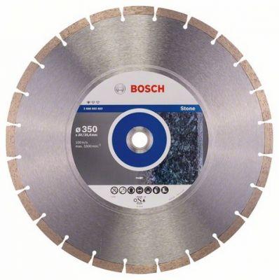 Диск Bosch алмазный, 350_25.4/20_3.1, по граниту, камню, сегментный, Professional for Stone, 2608602603
