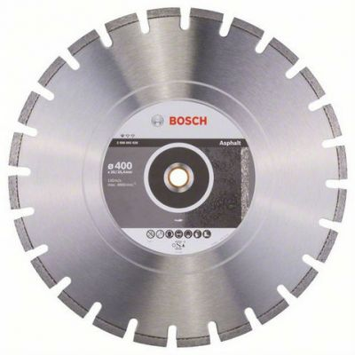 ���� Bosch ��������, 400_25.4/20_3.2, �� ��������, ����������, Professional for Asphalt, 2608602626