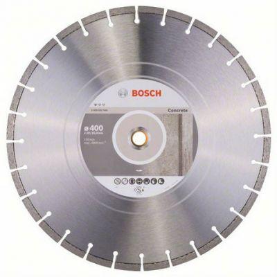 Диск Bosch алмазный, 400_25.4/20_3.2, по бетону, сегментный, Professional for Concrete, 2608602545