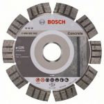 Диск Bosch алмазный, 125_22.23_2.2, по бетону, железобетону, сегментный, Best for Concrete, 2608602652
