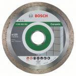 Диск Bosch алмазный, 125_22.23_1.6, по керамике, сплошной, Professional FPE, 2608602202