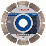 Диск Bosch алмазный, 125_22.23_1.6, по камню, сегментный, Professional for Stone, 2608602598