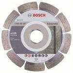 Диск Bosch алмазный, 125_22.23_1.6, по бетону, сегментный, Professional for Concrete, 2608602197