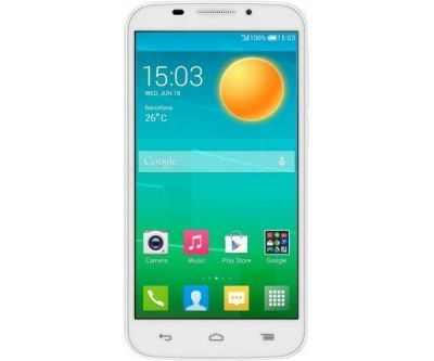 Смартфон Alcatel POP S7 7045Y White 7045Y-2QALRU1
