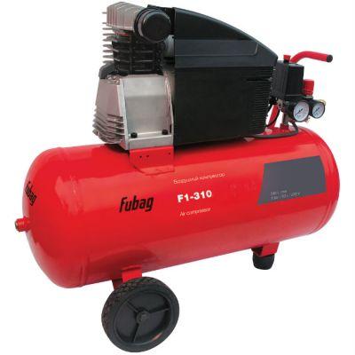 Компрессор Fubag F1-310/24 CM3, 2.2 кВт, 24 л, 310 л/мин, 8 бар, 28.1 кг, масляный, 76CC504KOA615