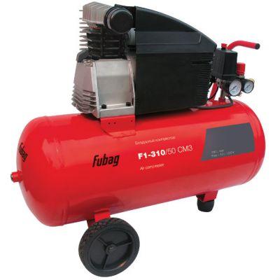 Компрессор Fubag F1-310/50 CM3, 2.2 кВт, 50 л, 310 л/мин, 9 бар, 36.1 кг, масляный, 76DC504KOA616