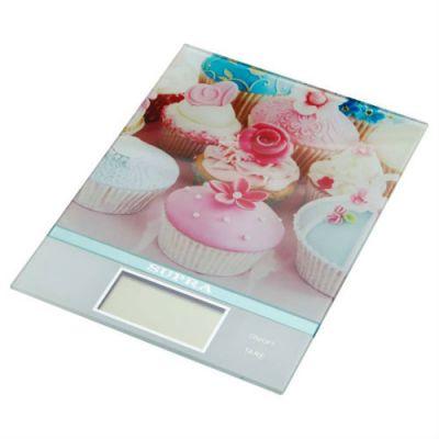 Кухонные весы Supra BSS-4097 (розовые)